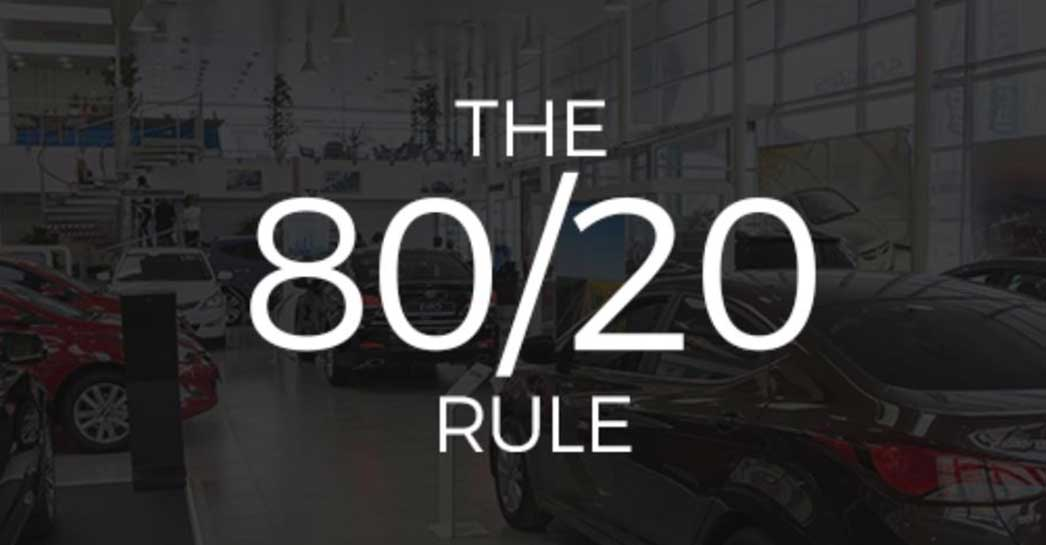AutoSuccess Podcast with Bill Wittenmyer: The 80-20 Rule
