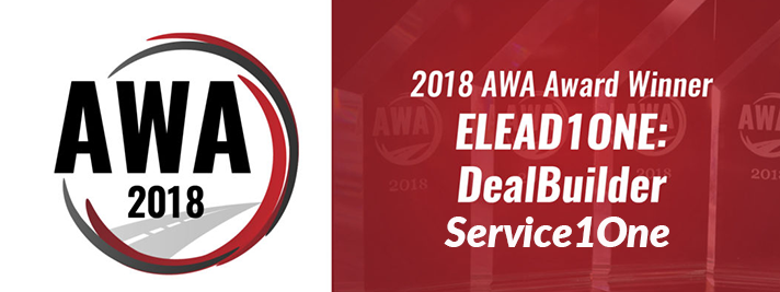 DealBuilder AND SERVICE1ONE Honored At 2018 Automotive Website Awards