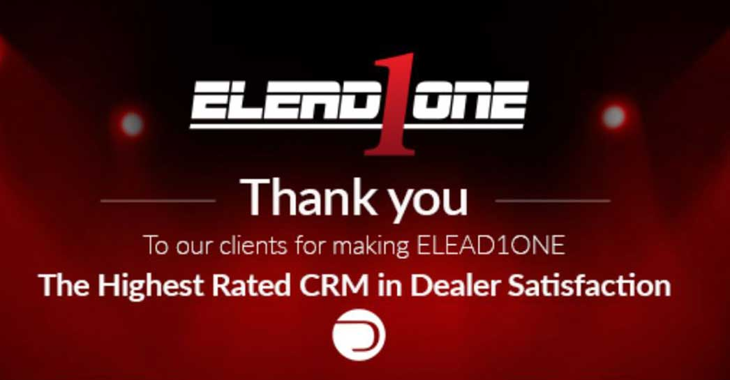 ELEAD1ONE Wins 7 DrivingSales Dealer Satisfaction Awards