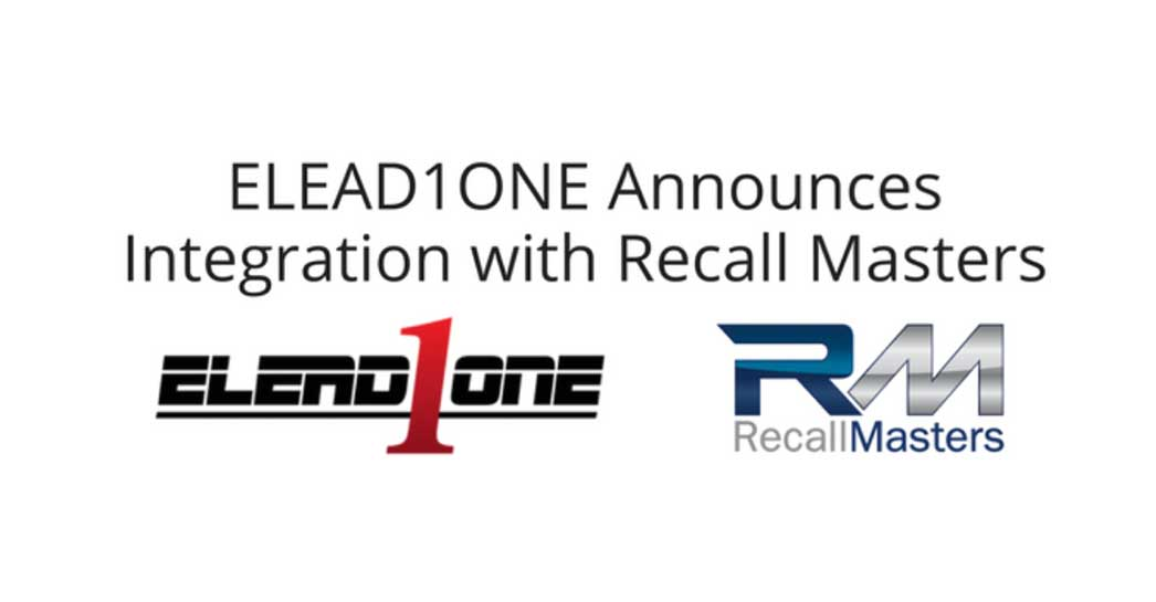New Elead Partnership with Recall Masters, Inc.