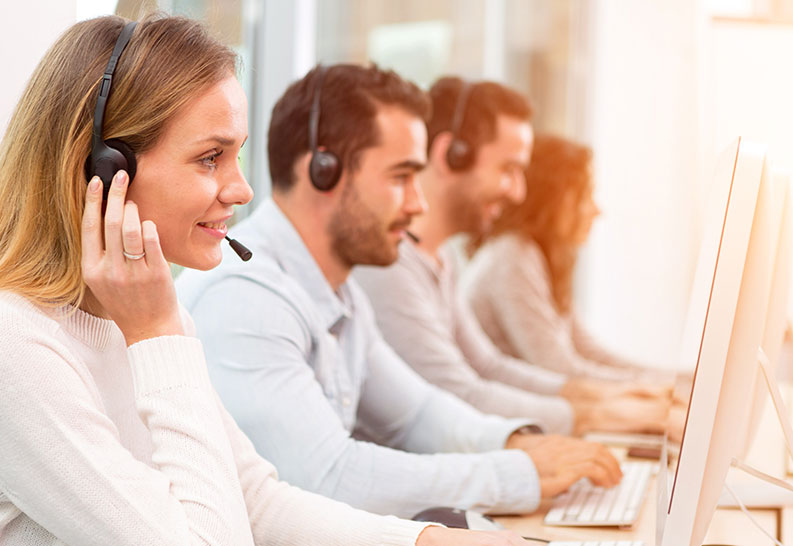automotive call center outbound agents